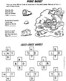 printable crossword puzzles for kids 007