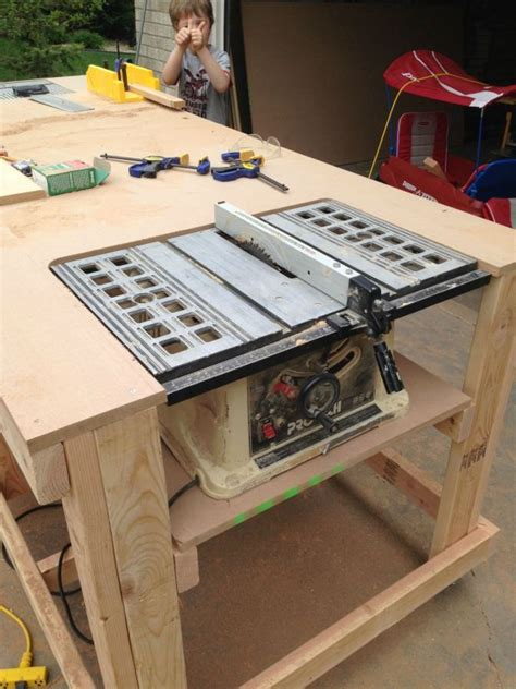 how to make a bench saw 1000 images about table saw on pinterest table saw