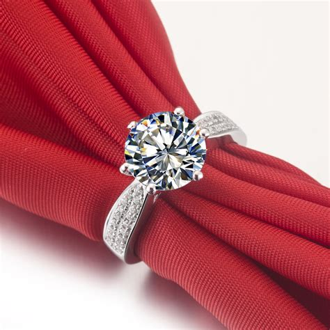 King Engagement Ring Shopping by Silver Wedding Rings For Carat Wedding Ring