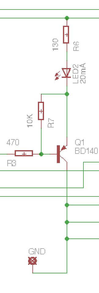pic why do we need a pull up resistor when there is a floating connection at the base of a
