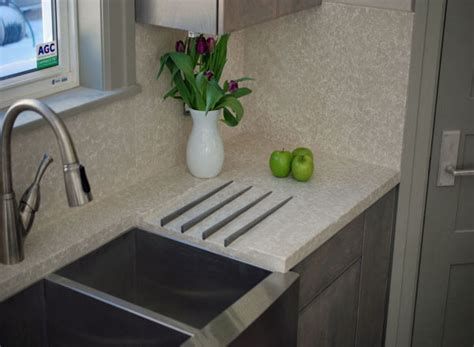 Concrete Countertop Backsplash by Toronto Concrete Countertop And Flooring Products Modern