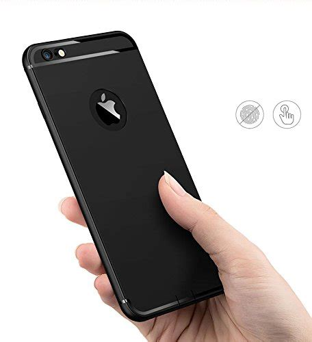 Anti Softcase For Iphone Android Smartphone 4 iphone 6 plus iphone 6s plus black amozo 174 soft silicone with anti dust plugs