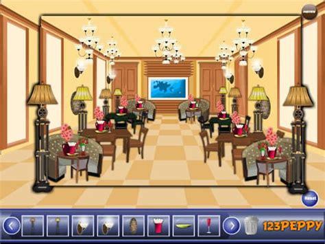 huis inrichten spelletjes restaurant inrichten spel funnygames nl