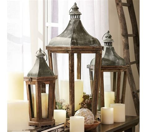 Pottery Barn Lantern decosee pottery barn lanterns