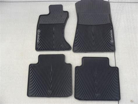 Lexus Es 350 Floor Mats by 2008 Lexus Es 350 All Weather Floor Mats Carpet Vidalondon