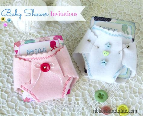 How To Make Paper Diapers For Baby Shower - baby shower invitations