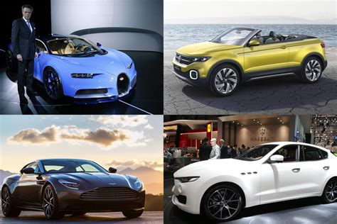 Maserati Vs Bugatti by From Bugatti Chiron To Maserati Levante Top Cars From