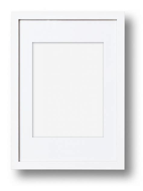 cool white frame added colorful pictures as custom solid american frame white or black