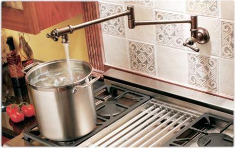 Moen S664 Pot Filler Two Handle Kitchen Faucet, Chrome