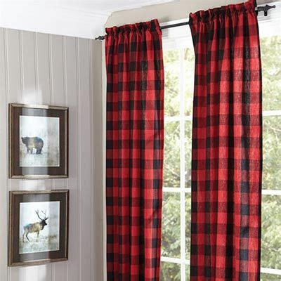 red and black window curtains 25 best ideas about plaid curtains on pinterest plaid