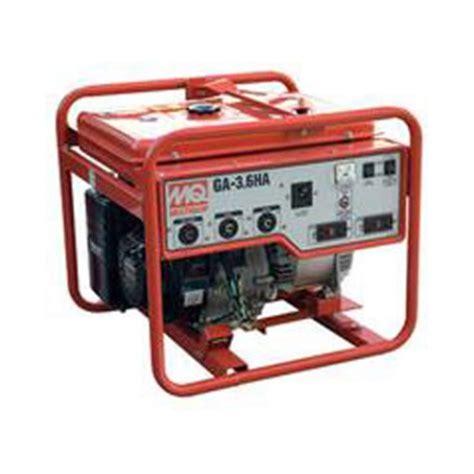 multiquip ga36ha 3600 watt 120 240v honda gx340 generator