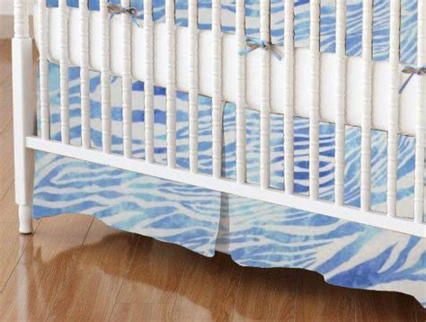 Zebra Crib Skirt by Crib Skirts Sheets Sheetworld