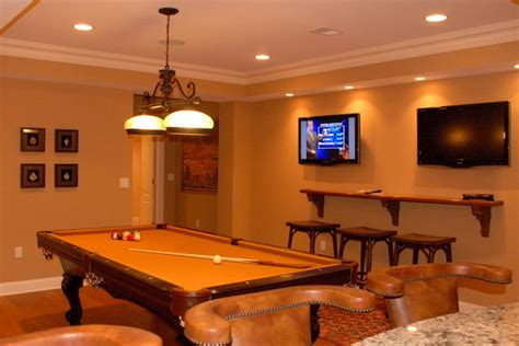 billard room billiard room with tvs warren nj traditional basement new york by future home