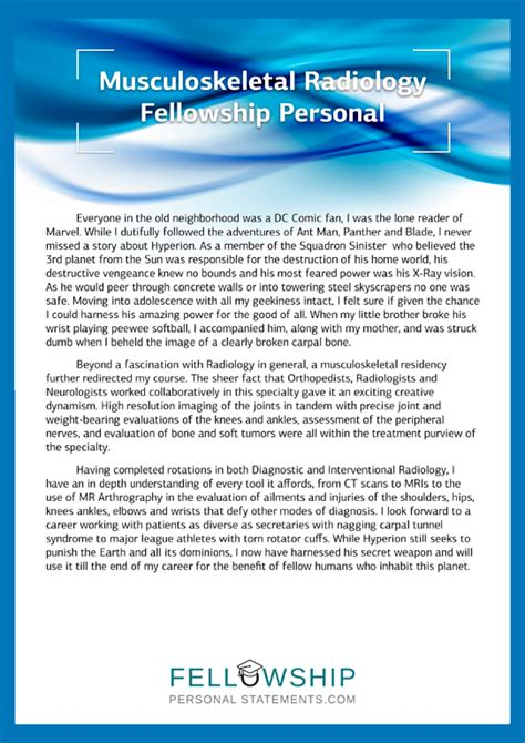 Eras Personal Statement by Eras Personal Statement Advice