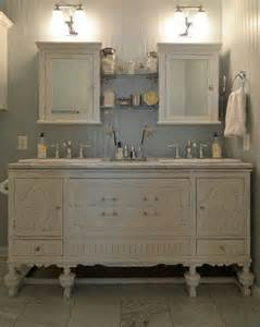 Buffet turned vanity bathroom ideas pinterest