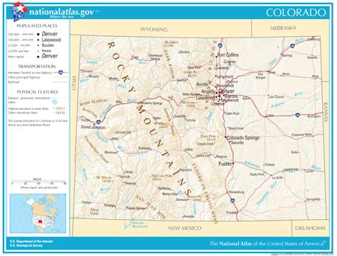 state road maps colorado state maps interactive colorado state road maps