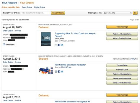 amazon your orders 5 ux hacks that can immediately increase revenue