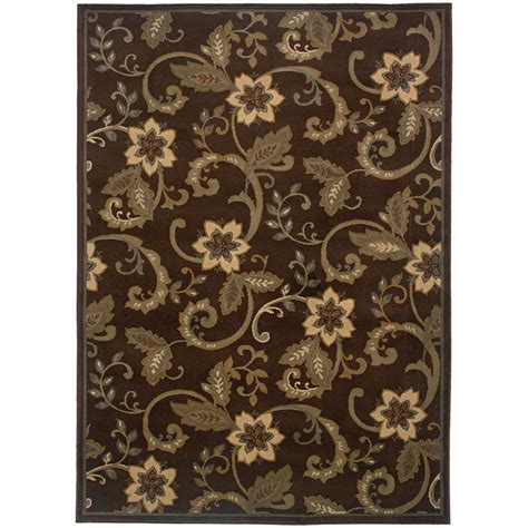 10 x 13 ft area rug artistic weavers ceratonia chocolate 10 ft x 13 ft