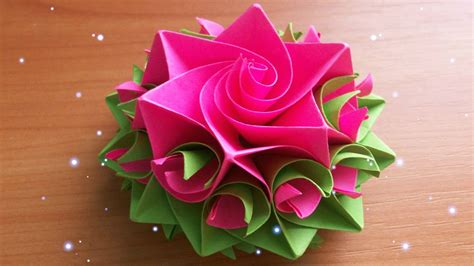 How To Make Paper Crafts Flowers - diy handmade crafts how to make amazing paper