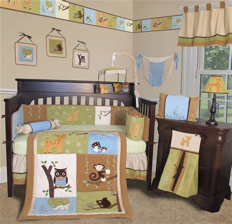 Forest Friends Crib Set by Baby Boutique Forest Friends 13 Pcs Crib Nursery Bedding