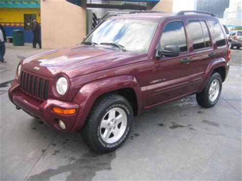 2002 maroon jeep liberty 2002 used jeep liberty color burgundy for sale in