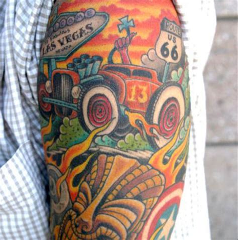 automotive tattoos the ten best and ten worst car tattoos top 10 car news
