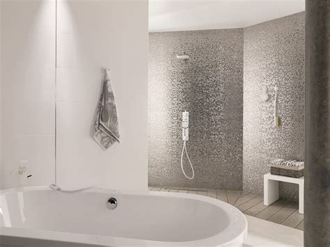 Modern Bathroom Feature Tiles 3 Dimensional Feature Tiles Plata Contemporary