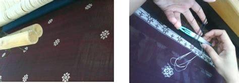 Kebaya Motif Sideman Sisir Motif Tenun proses pembuatan kain tenun motif melayu deli dony