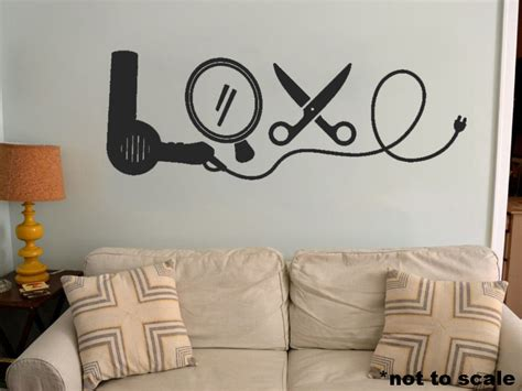 Vinyl Wall Stickers Quotes love cosmetology interior wall sticker decal vinyl decor