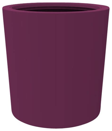 Purple Planter by Large Vienna Planter Purple Outdoor