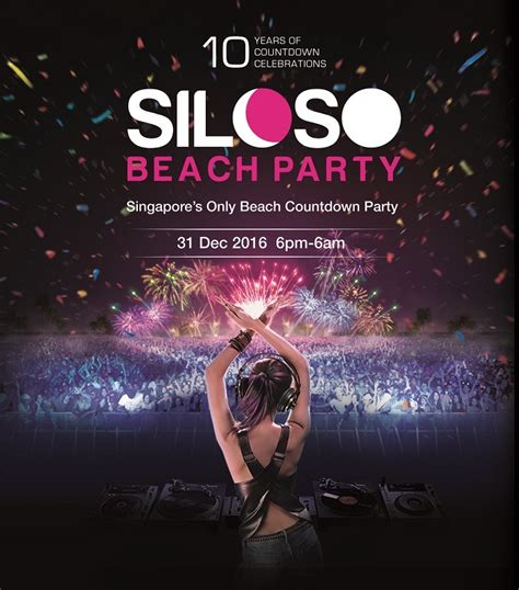 siloso beach party 2017 10 years of countdown