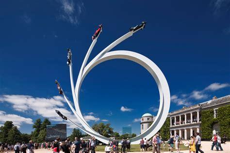 gerry judahs sculpture   goodwood festival  speed
