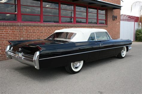 Black Interior Paint 1964 cadillac de ville convertible 157360