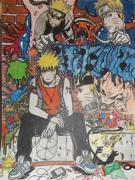 wallpaper graffiti naruto naruto gangster by djsweetz on deviantart