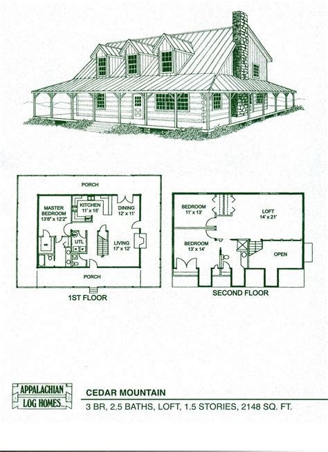 porch floor plans log cabin floor plans with wrap around porch home interior