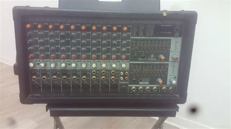 behringer europower pmp2000 powered mixer behringer europower pmp2000 image 1966496 audiofanzine