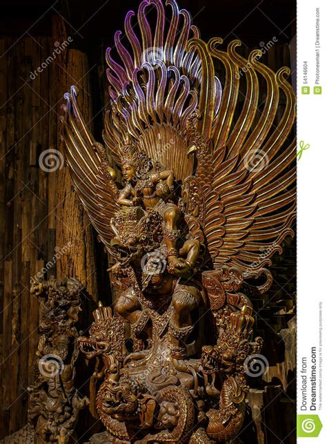 Garuda Painting by Garuda Hindu Painting Stock Image Cartoondealer