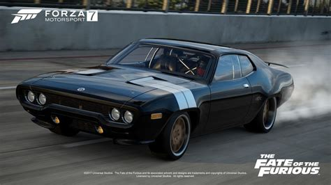 fast and furious 8 car images forza 7 to feature fast and furious 8 star cars top gear