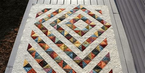 Thinking Outside The Box Quilt Free Pattern by A Stunning Quilt Made From Charm Squares Quilting Digest