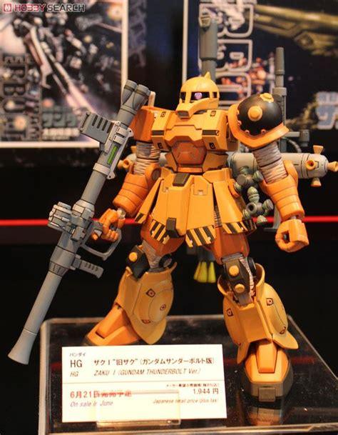 Tg011 Zaku I Thunderbolt Ver zaku i gundam thunderbolt ver hg gundam model kits other picture2 msv