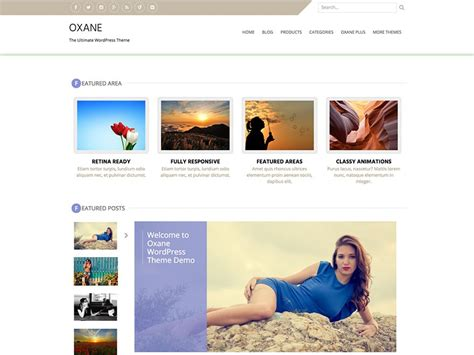 unique wordpress themes free download oxane free creative wordpress theme freemium download