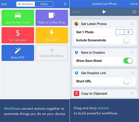 workflow iphone app automate everything on your iphone with workflow app