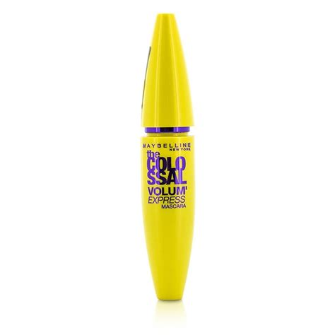 Mascara Maybeline Hitam 1 maybelline volum express the colossal mascara glam black fresh