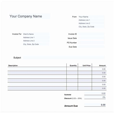 payroll receipt template word 50 new payroll invoice template graphics free invoice
