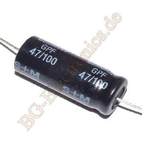 Elko Axial 68uf100v 10 x 47 f 47uf 100v elko kondensator capacitor axial