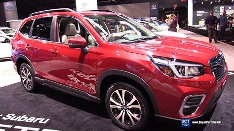 2019 Subaru Forester Debut by 2019 Subaru Forester Exterior And Interior Walkaround