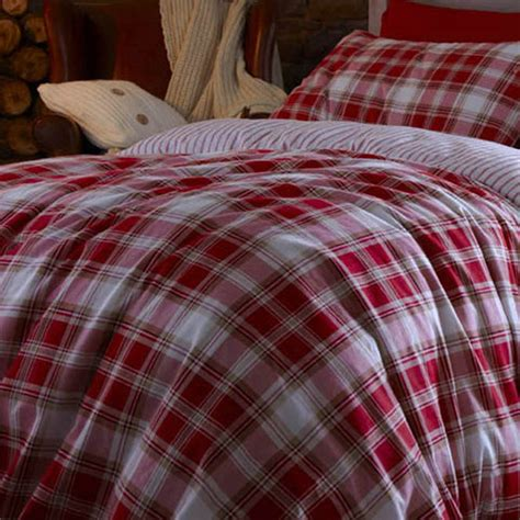 red coverlet red tartan duvet cover king size sweetgalas