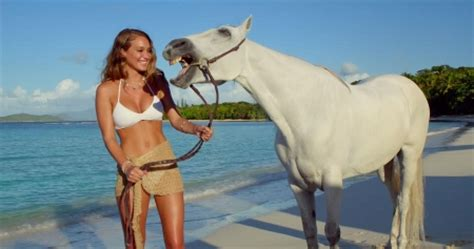 direct tv commercial actress hannah davis hannah and her horse models female people background