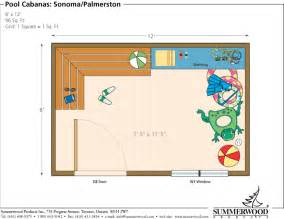 Pool Cabana Floor Plans by Tarmin Februari 2015