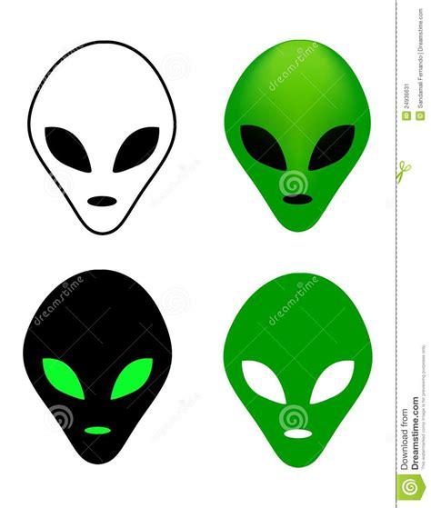 printable alien mask alien mask stock image image 24936631